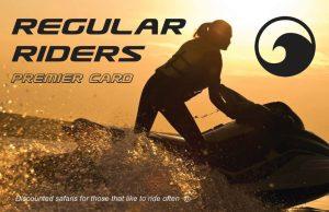 Regular Riders Premier Card Jet Set Go Torquay Loyalty Card