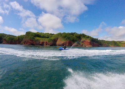 Coastline cruising