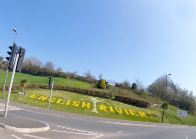 English Riviera in Bloom - Welcome sign