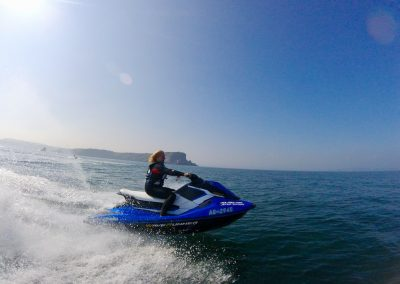 Gaining jet ski confidence