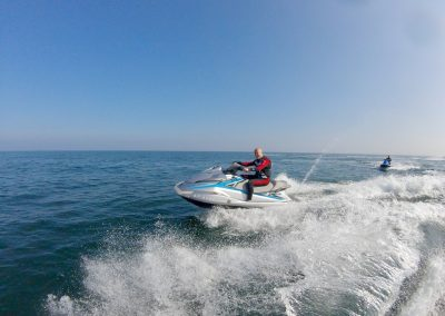 Jet Ski cruising