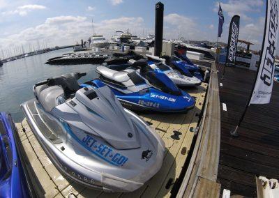 Our jet skis are always safari-ready!