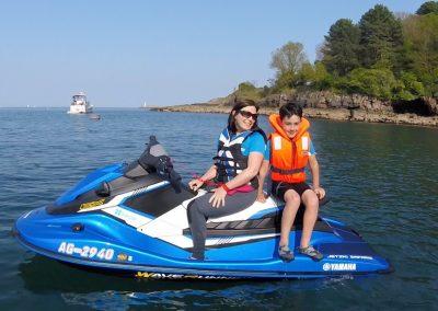 Mother & Son Jet Ski Safari