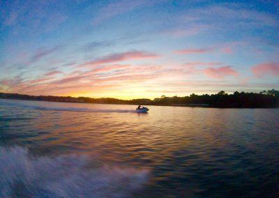 Stunning sunset safari
