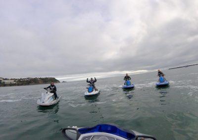 Jet ski fun in any weather