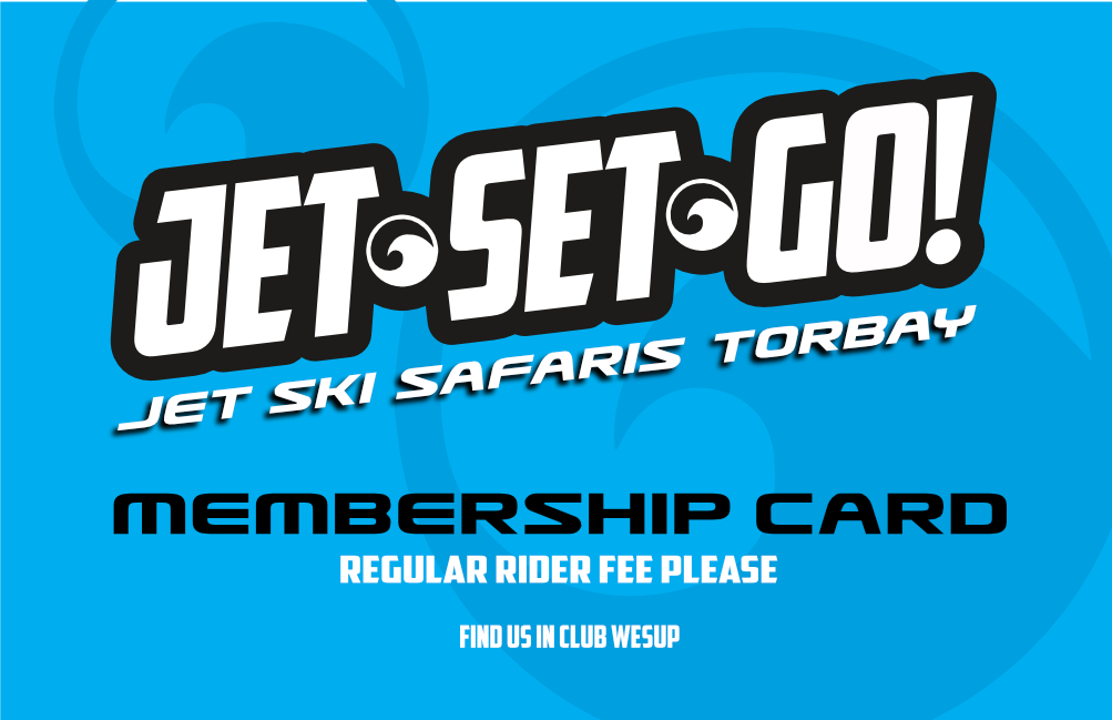 Jet Ski Safari Membership Card