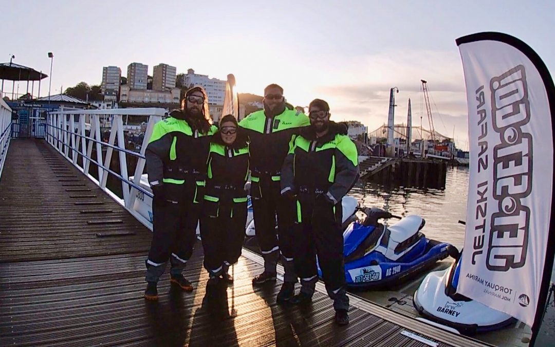Winter Jet Skiing Safari –   New suits for 2019