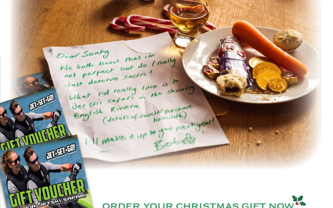 Christmas Gift Voucher - Letter from Bob