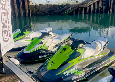 Jet Skis Ready for Action
